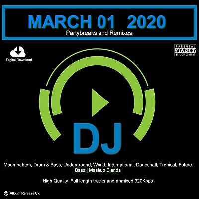 PARTYBREAKS AND REMIXES  MARCH 01 (2020) - Mp3 DOWNLOAD