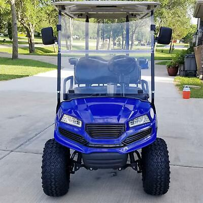 Front Clear Windshield Folding For 2007-UP Yamaha G29 Drive Golf Cart