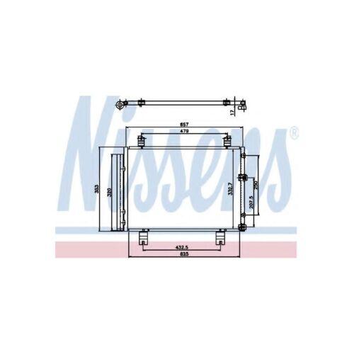 Genuine Nissens A/C Air Con Condenser - 94950