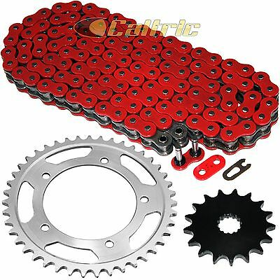 Red O-Ring Drive Chain & Sprockets Kit for Suzuki GSX-R750 GSXR750 2000-2005