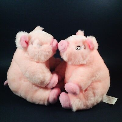 TWO Priscilla The Pink Pig Macy's 7