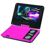 Pink Portable DVD Player