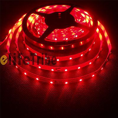 Flexible 300 Leds SMD 3528 LED Strip Lights Non-Waterproof DC 12V Red #ETUS