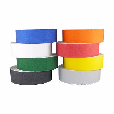 2 X 60 Non Skid Adhesive Tape Several Colors - 60 Grit - Grip Anti Slip Safety