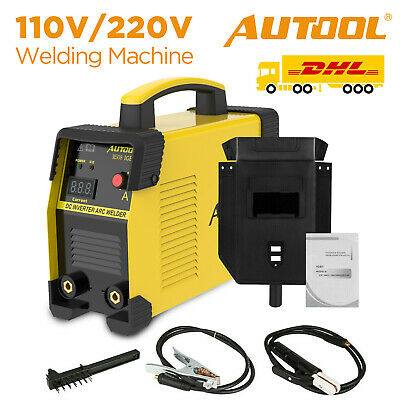 Autool Welding Machine 110v220v Igbt Dc Mma Arc Stick Welder Inverter 20-160a