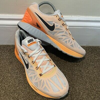 Nike Lunarglide 6 White Trainers Ladies Womens UK Size 6