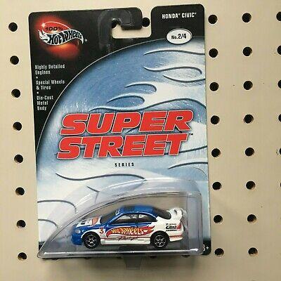 Hot Wheels 100% Super Street Honda Civic