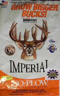 2 lb NO PLOW SEED WHITETAIL INSTITUTE IMPERIAL Food Plot Seeds DEER & TURKEY  - Imperial Deer Food