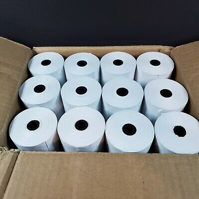 Iconex 90781294 Direct Thermal Printing Thermal Paper Rolls 3 X 225 Ft White