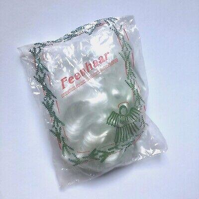 1 Packung altes Feenhaar Glasfaser Wolle für Christbaumspitzen , Engel , etc.