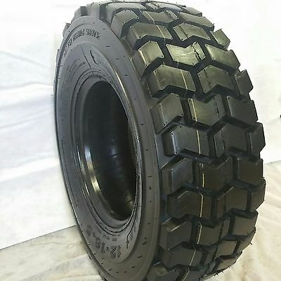 4-tires 10-16.5 14 Ply 10x16.5 Road Warrior Non-dir 4 Skid Steer Tires
