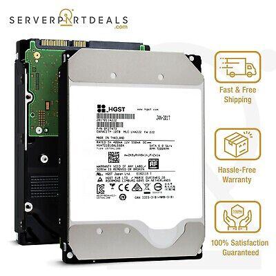 HGST Ultrastar He10 10TB 7200RPM SATA III Hard Drive - HUH721010ALE604 (0F27473)