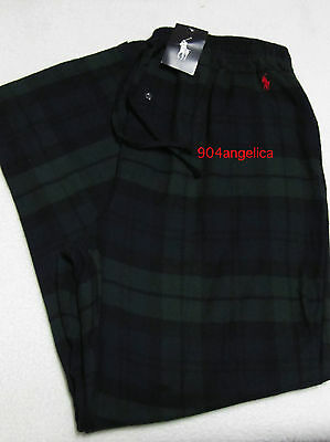 Polo Ralph Lauren Mens Flannel Sleep/Lounge Pants Extra-Large NWT
