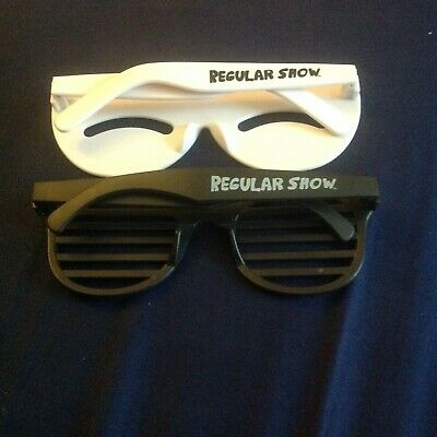 Used, Rare Regular Show Mordecai & Rigby 80's Glasses by Jazwares for sale  New York