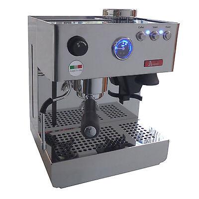 Deluxe-espresso-maschine (Acopino Milano Deluxe Espressomaschine Siebträgermaschine, integr. Mühle)