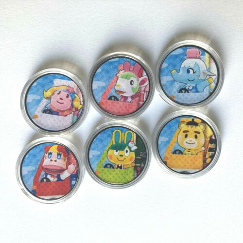 Amiibo Coin Tags - Animal Crossing SANRIO coins Complete Set - Used Great Shape!