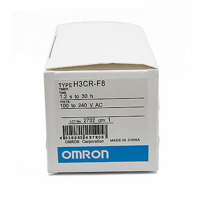 Omron Plc Twin Timer H3cr-f8 100-240v Ac New In Box 6 Month Warranty