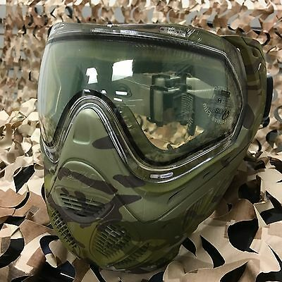 New Sly Profit Thermal Anti Fog Paintball Mask Goggle Series   V Cam Camo