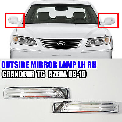 Exterior Right Genuine Hyundai 87614-3L700 Mirror Lamp Assembly
