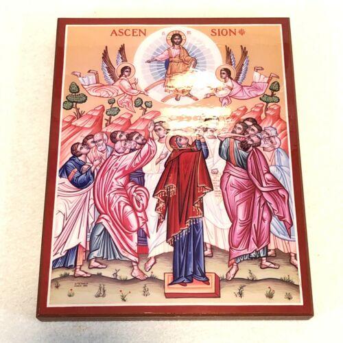 "Monastery Icons Windows Into Heaven Icon Iconography 1990 ""Ascension"""