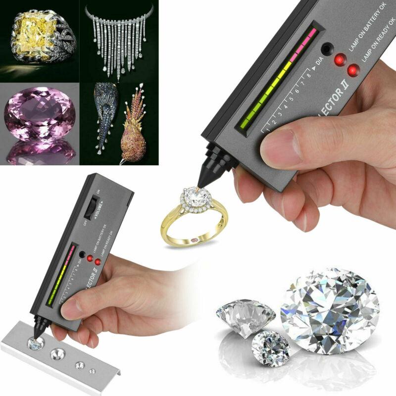 Diamond Jeweler Tool Kit Portable Gemstone Tester Selector Testing Gold Pen