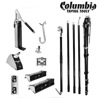 Columbia 10 And 12 Full Set W Predator Automatic Drywall Taper