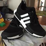 Addidas Nmd R1 White mountaineering trail shoes. Dead stock Earlwood Canterbury Area Preview