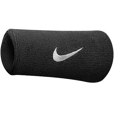 Nike Doublewide 2 Schweißbänder Tennis Sport Fitness Badminton Paar
