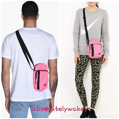 629bd190678f Nike Core Small Items 3.0 Messenger Bag Tech Shoulder Bag UNISEX Pink