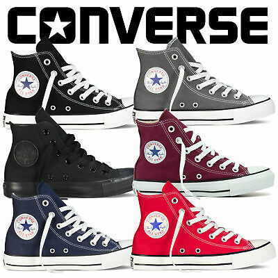 Converse Mens Womens Unisex All Star Low Tops Chuck Taylor Trainers Shoes UK