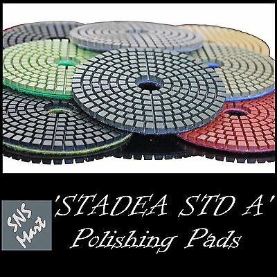 Stadea 5 Diamond Polishing Pad Grit 200 For Granite Concrete Wet Grinder Floor