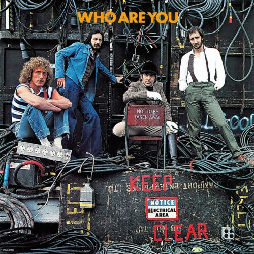 The WHO Who are You BANNER HUGE 4X4 Ft Fabric Poster Tapestry Flag album cover