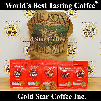 World's Best Tasting Keurig K-Cup - Hawaii Kona Fancy Coffee from Gold