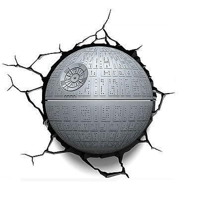 Wall Decoration Star Wars Death Star LED Night Light Lamp Lighting Gift Toy Xmas
