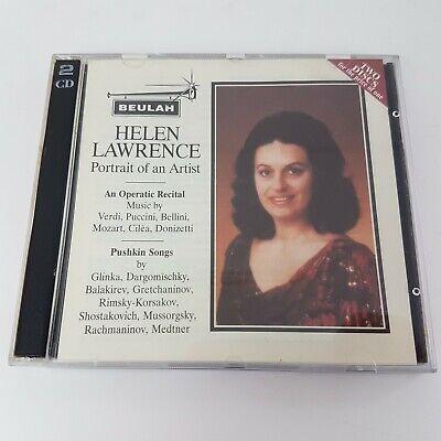 HELEN LAWRENCE Portrait of an Artist 2 CD (1999) Beulah Operatic Recital