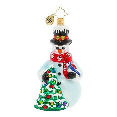 [NEW Christopher Radko A BIRD IN THE HAND Christmas Ornament 1020364</Title]