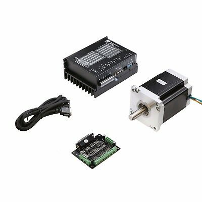 1axis Longs Nema 42 Stepper Motor 3256oz-indriver Dm2722a Cnc Engrave Mill Kits