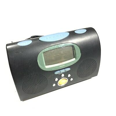 Philips MICHAEL GRAVES MG-C200/17 Alarm Clock AM/FM Radio Black