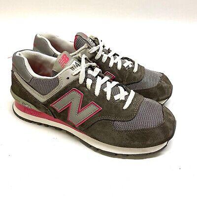 New Balance 574 Women's Pink Running/Walking Shoe/Sneaker Size 9