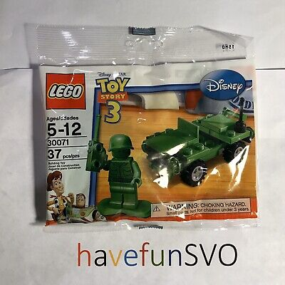 LEGO Disney Toy Story 3 #30071 Army Jeep - New Polybag - 2010 Target Exclusive