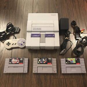 Console Super Nintendo SNES