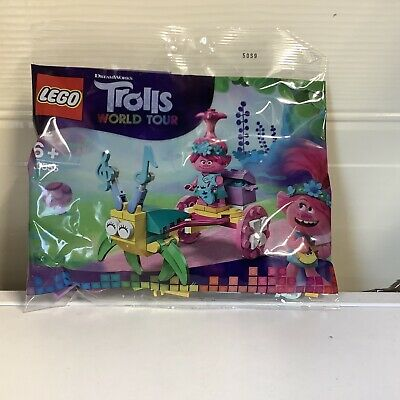Lego Trolls World Tour Poppy's Carriage 30555 brand new and sealed polybag