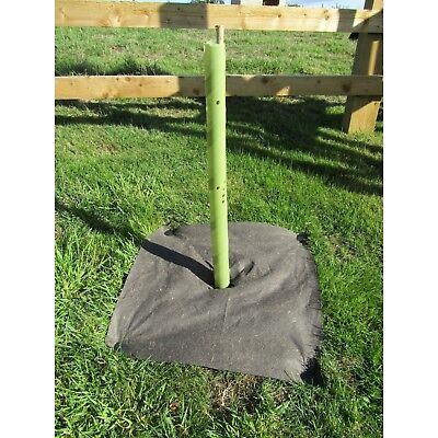 60CM SPIRAL BIODEGRADABLE 38MM TREE GUARD & 90CM BAMBOO SUPPORT CANE x50