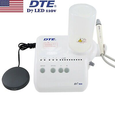 Original Woodpecker Dte Dental Ultrasonic Piezo Scaler D7 Led Handpiece Acteon