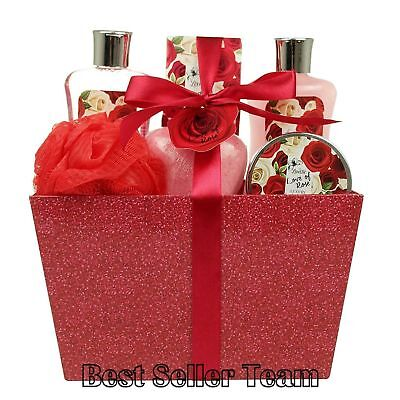Spa Gift Baskets For Women Best Anniversary Holiday Bath and Body Luxury