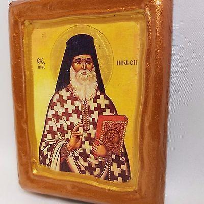 Saint Niphon Nephon Agios Nifon Nefon Byzantine Eastern Orthodox Church Icon Art