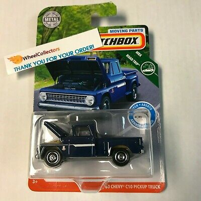 '63 Chevy C10 Pickup Truck * 2019 Matchbox Moving Parts * Case C * T6 for sale  Overland Park