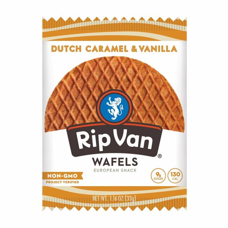 Rip Van Wafels Non-GMO European Snack, Dutch RVW00334