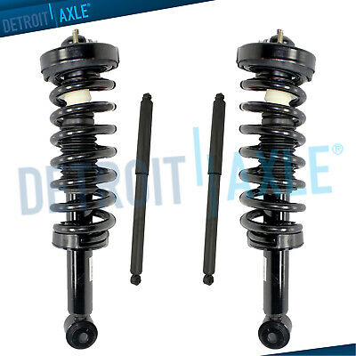 2009-2011 2012 2013 Ford F-150 4x4 Front Struts w/ Spring Rear Shocks (2013 Ford F 150 King Ranch 4x4)
