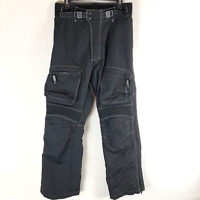 Joe Rocket Motorcycle Pants Black Padded Small